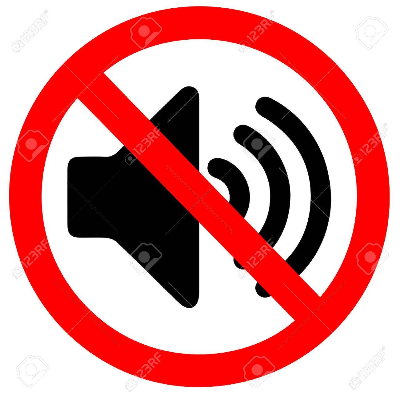 No sound sign - 30534117