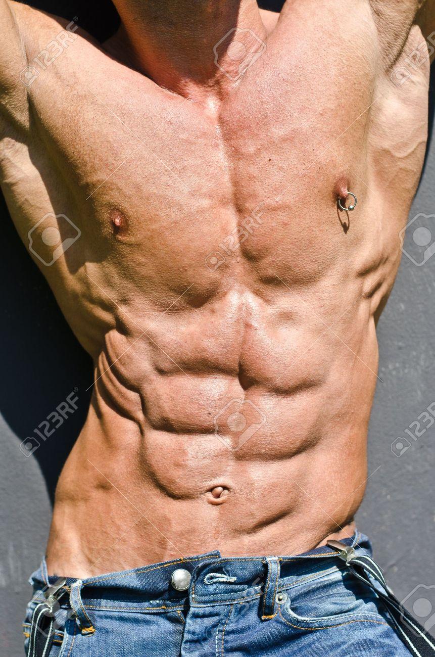 Nippelpiercing mann