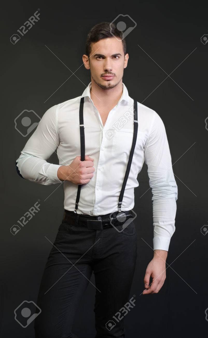 hemd mit hosenträger