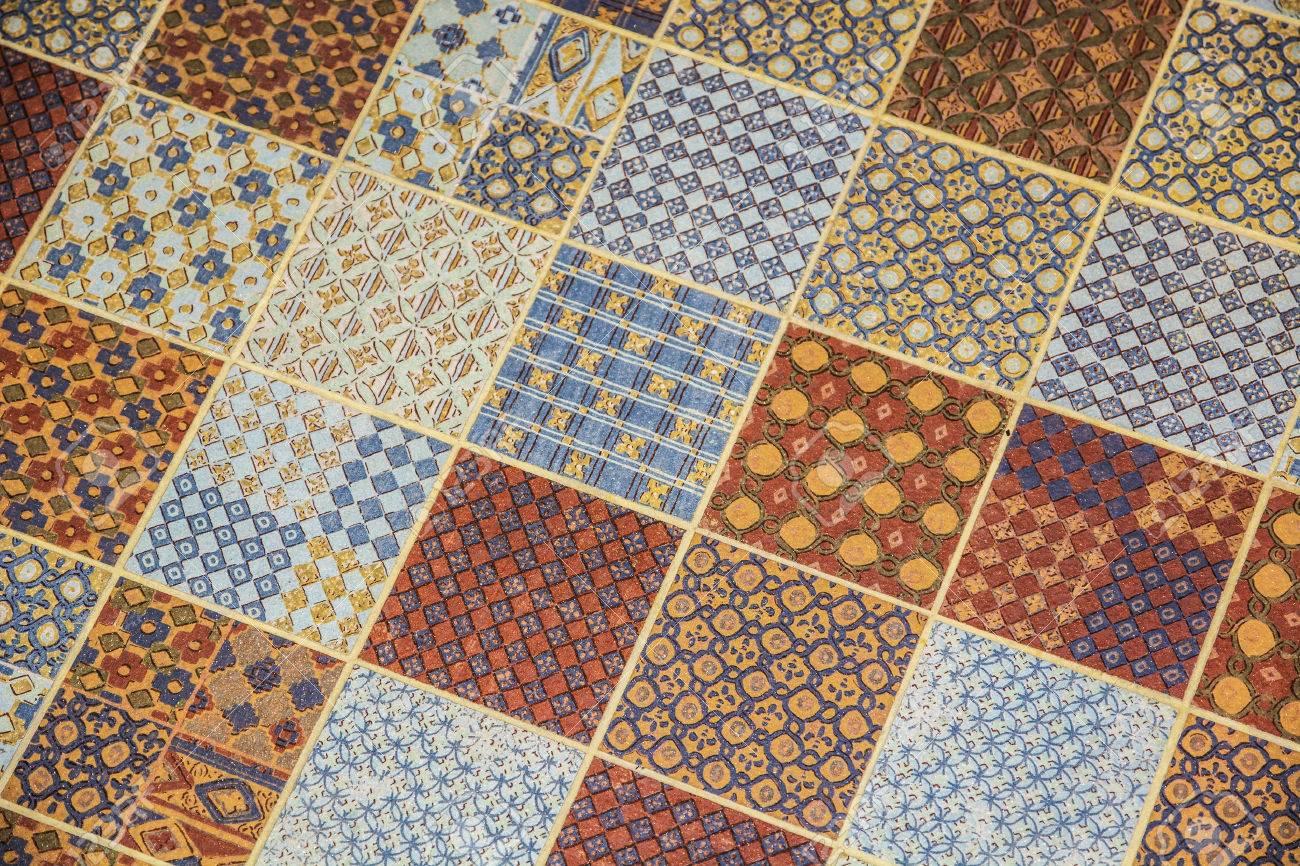 Immagini stock pavimento di piastrelle o linoleum di ripetere