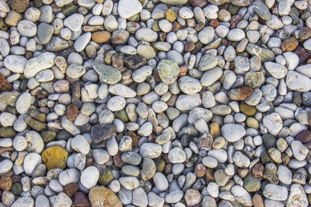 Landscape Photo Of Pebbles On A Beach In Cirali, Antalya, Turkey
