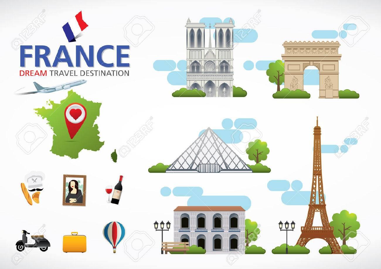 París, Francia El Concepto De Destino Viajes, Viajes Colección De ...