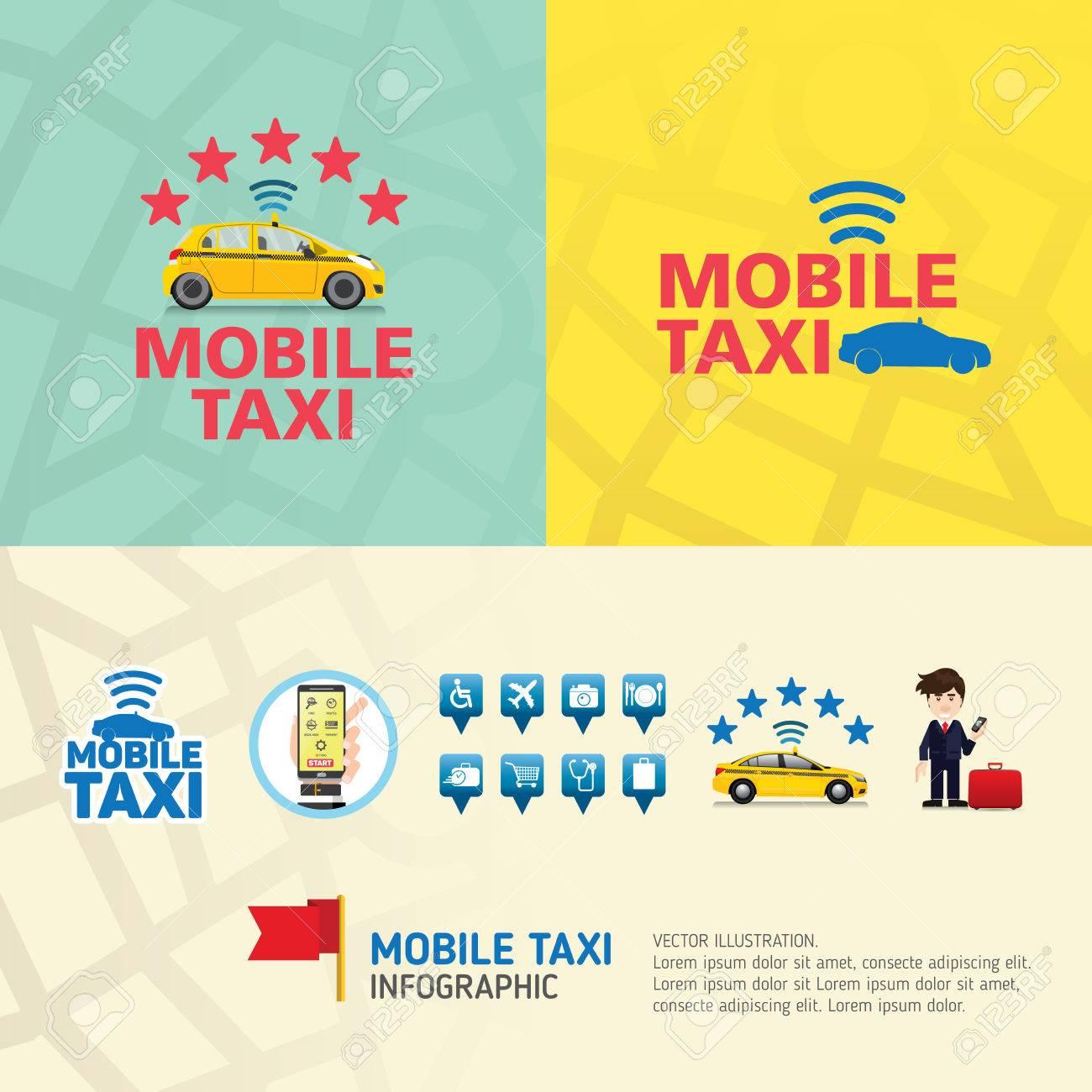 Public taxi service application  Mobile Taxi business service