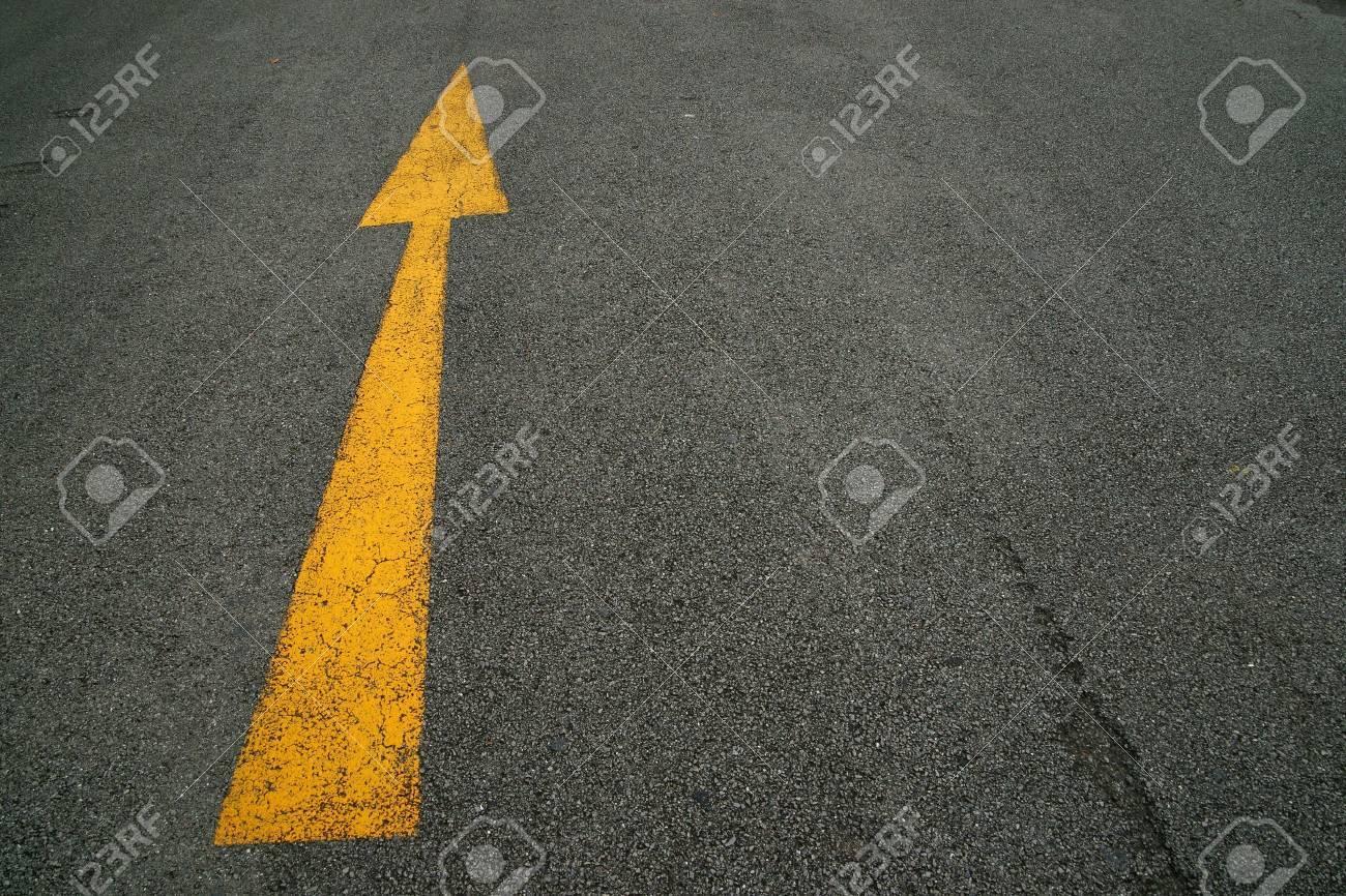 Arrows, the road Stock Photo - 7920886