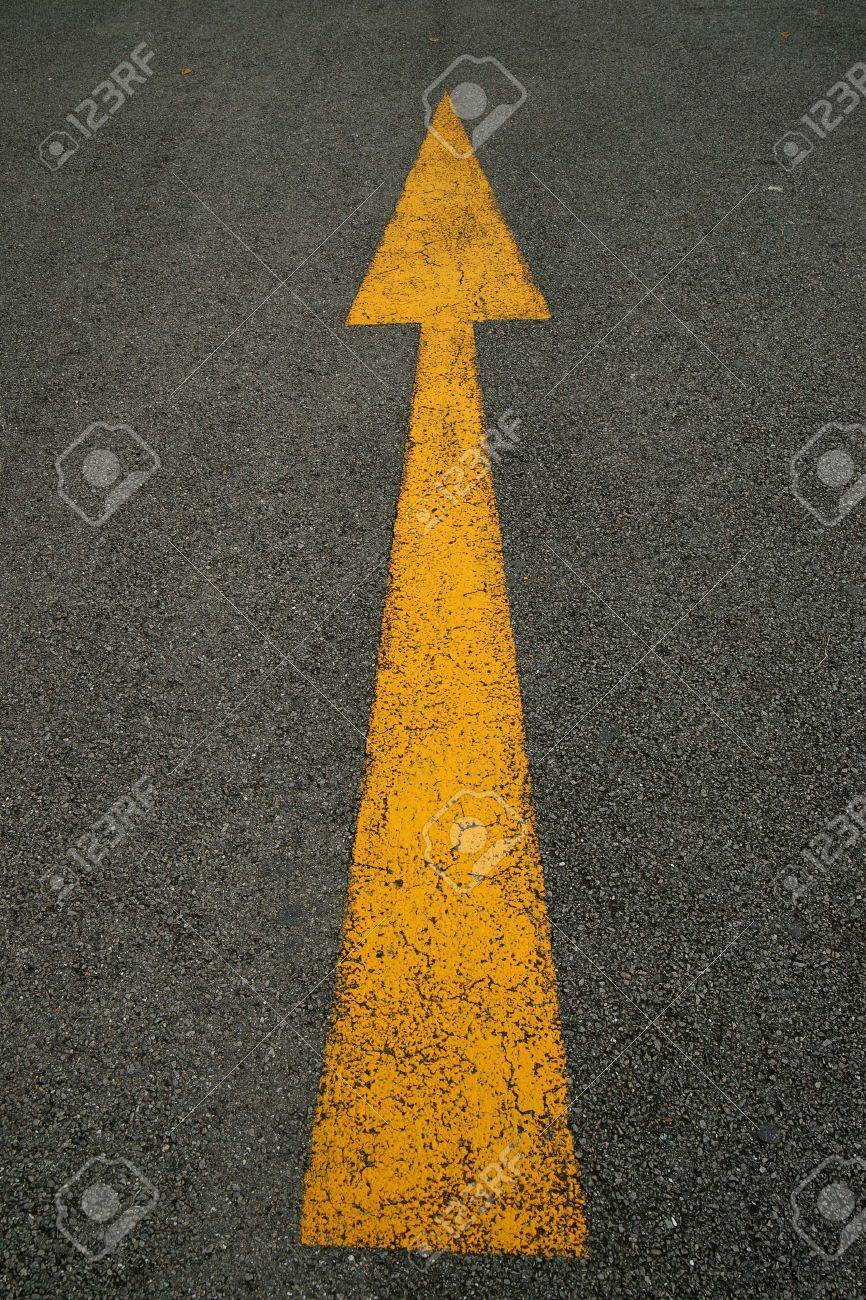 Arrows, the road Stock Photo - 7920885