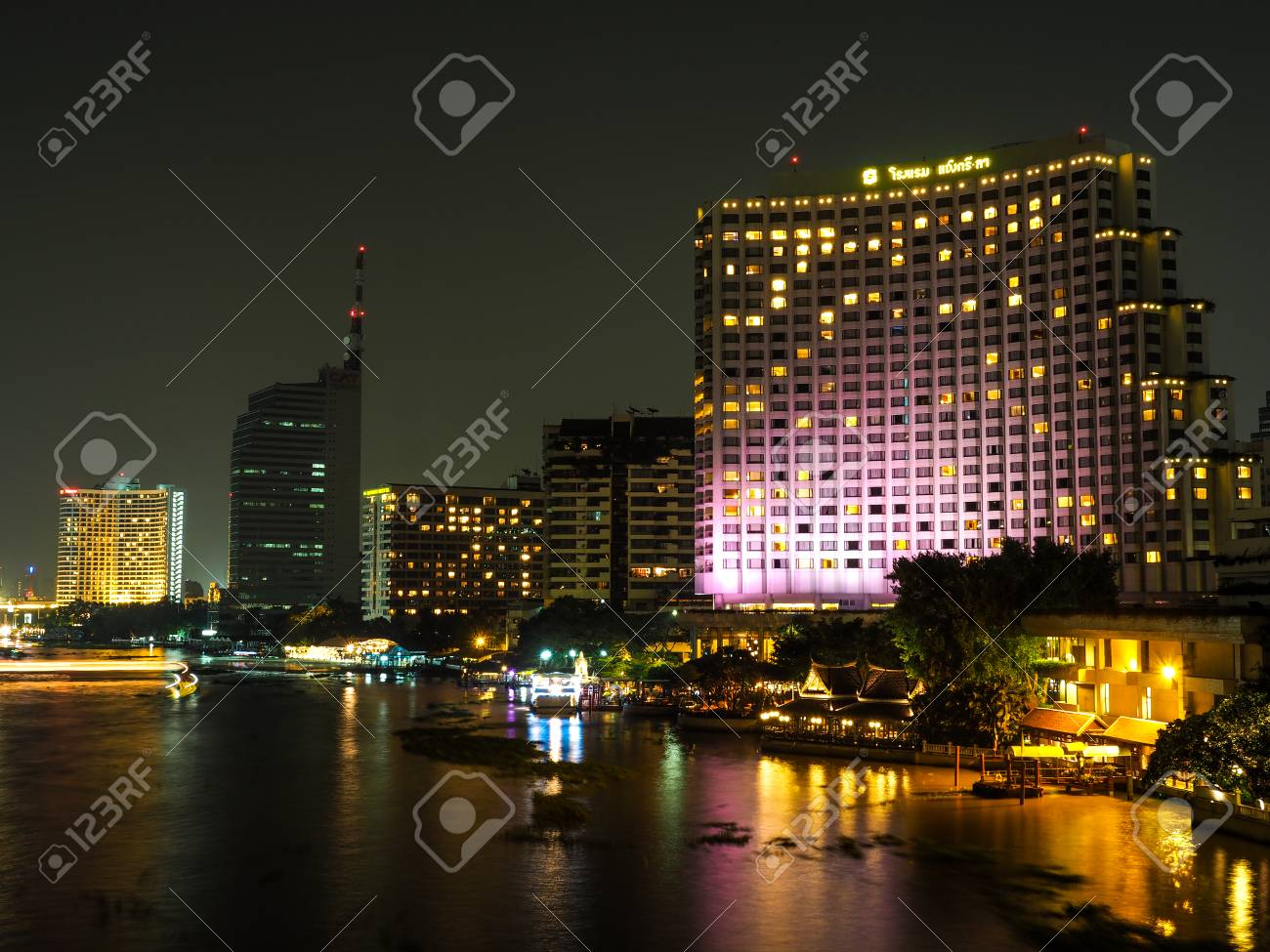 Bangkok Thailand Oct 18 2015 Shangri La Hotel Bangkok The