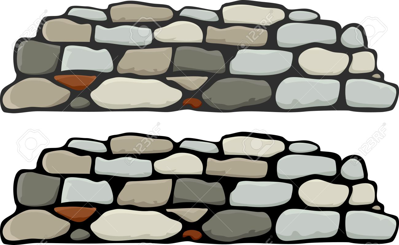 a stone wall with black and grey mortar variations royalty free rh 123rf com dry stone wall clipart stone wall pattern clipart