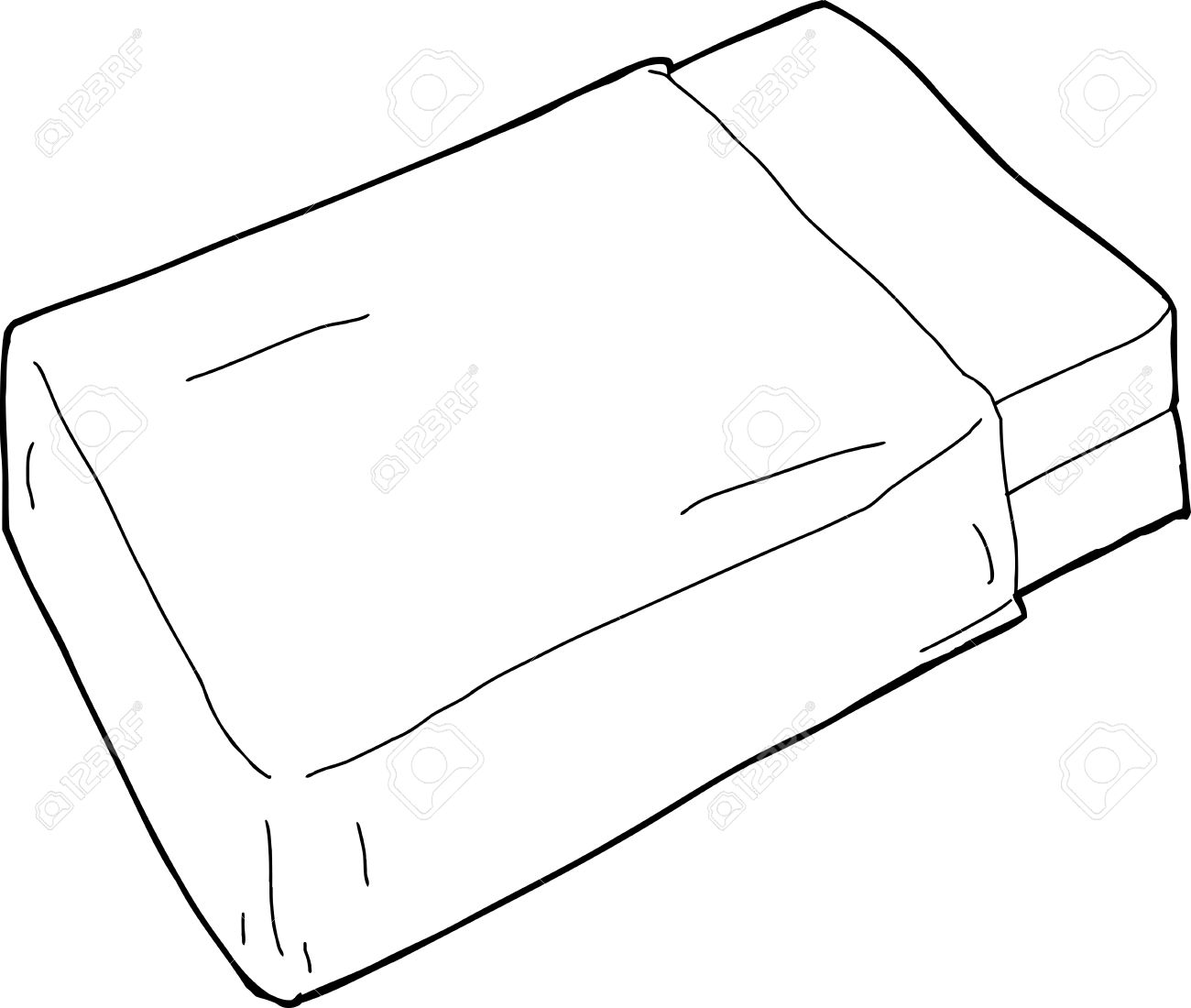 mattress drawing. Single Hand Drawn Bed Mattress With Blanket Stock Vector - 35795340 Drawing 8