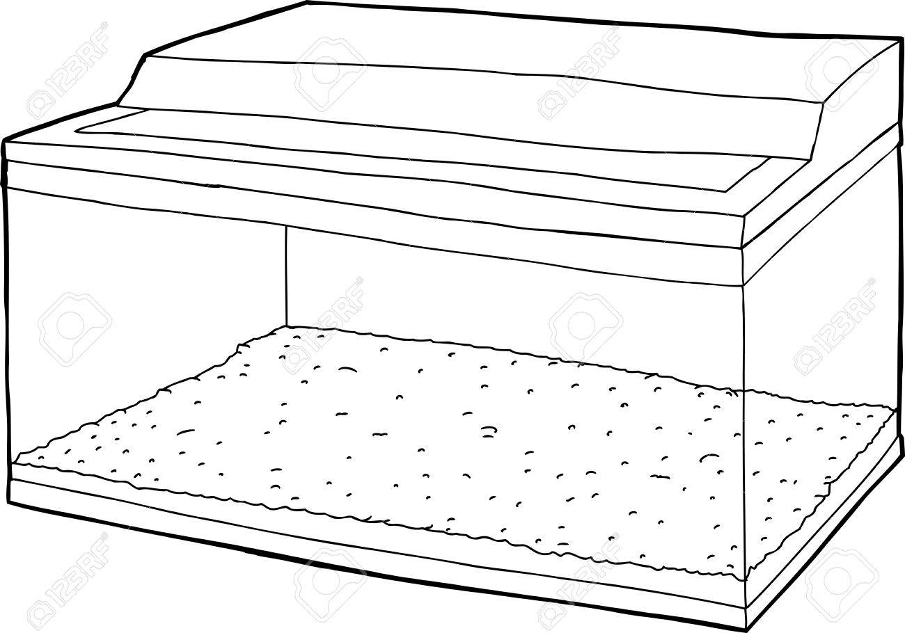 fish tank coloring page best fish tank coloring page in coloring