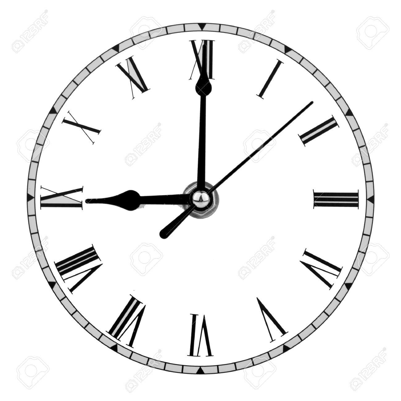 worksheet Analog Clock Face analogue clock face displaying nine oclock stock photo picture 16048227