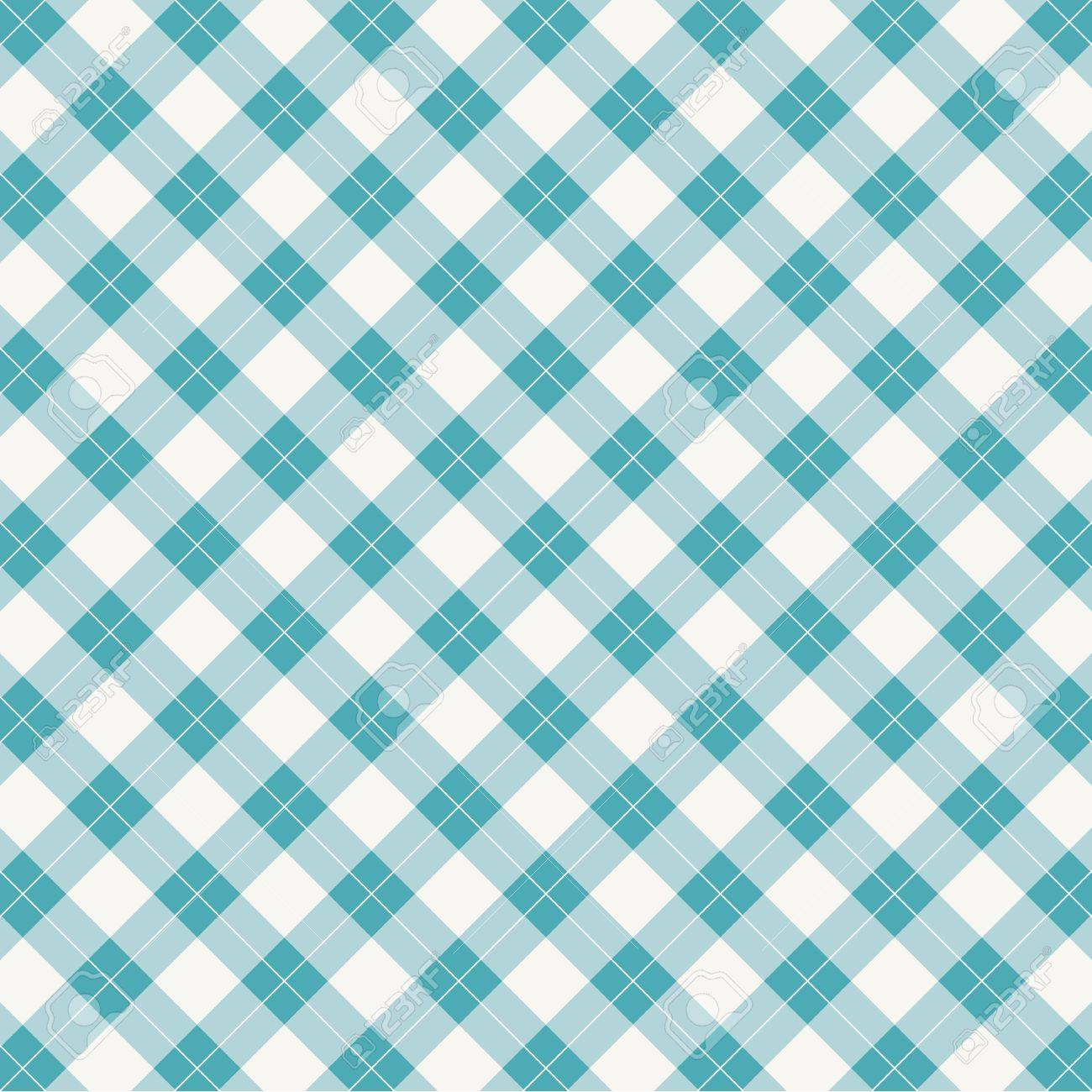 background retro vintage gingham tablecloth seamless pattern Stock Vector - 22497588
