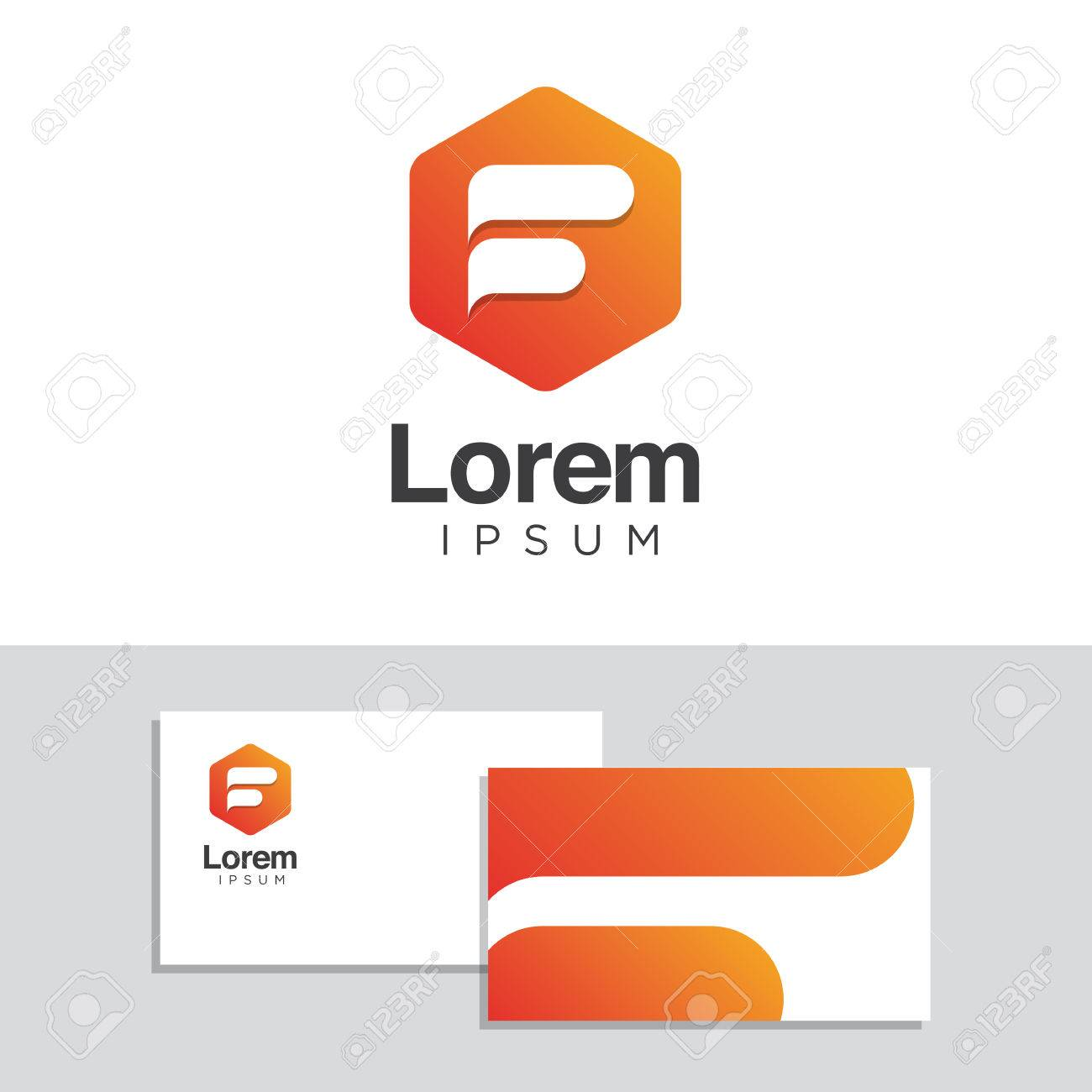 Vector graphic design business logo - Logo Design Elements With Business Card Template Vector Graphic Design Elements For Company Logo