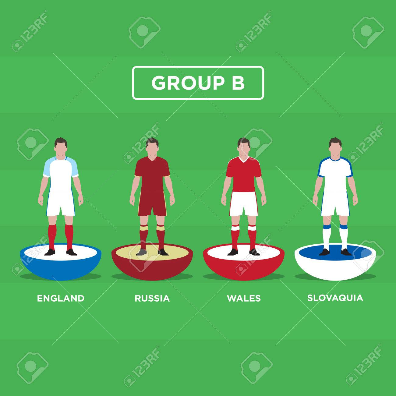 Table Football Football Joueurs France Euro 2016 Groupe B