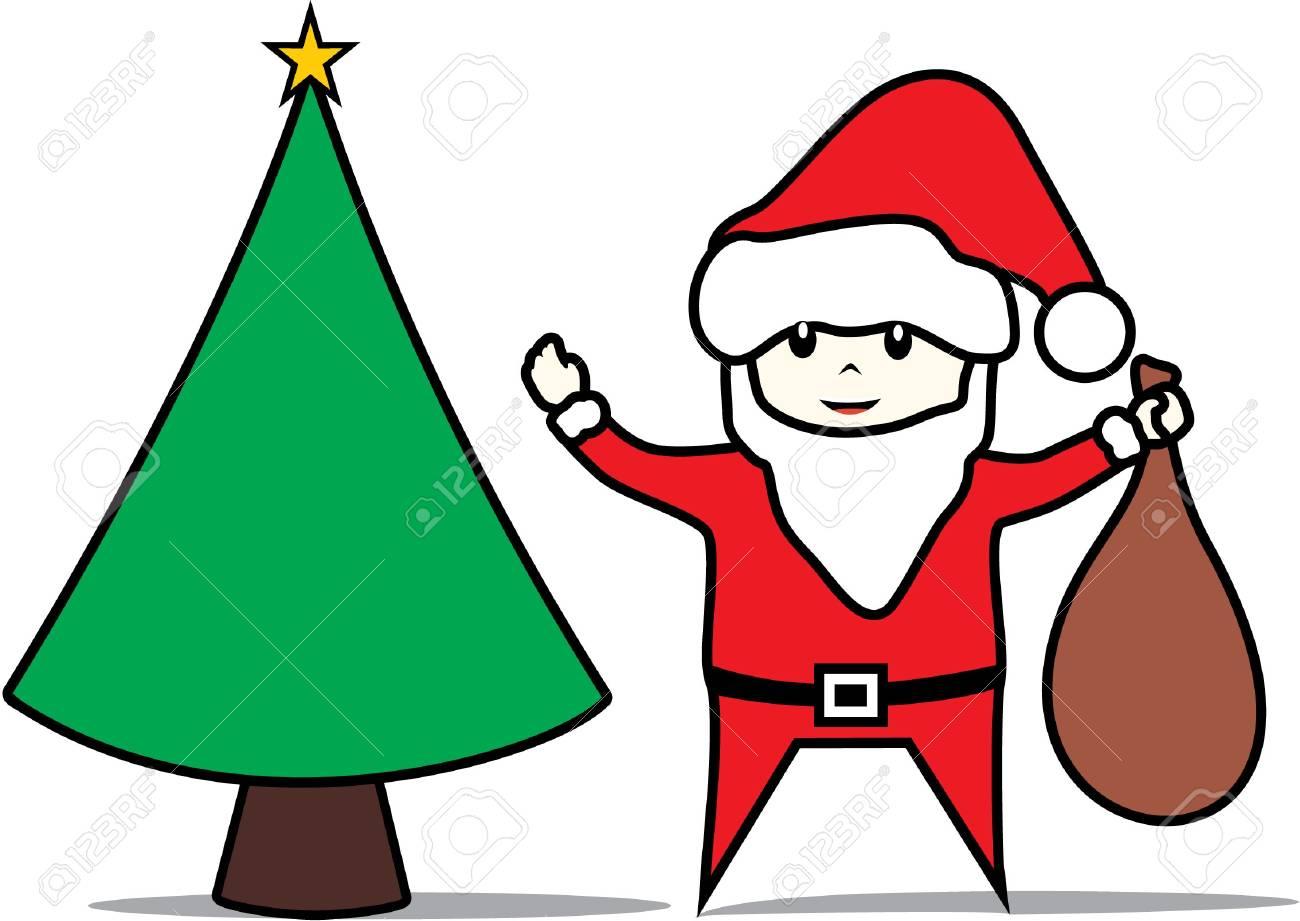 happy christmas Stock Vector - 17046274