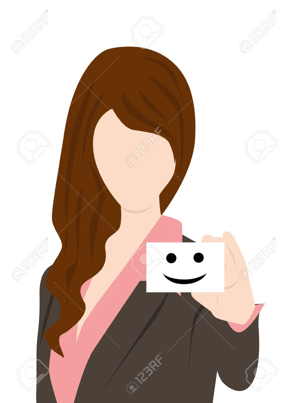 smile sign Stock Vector - 17097320