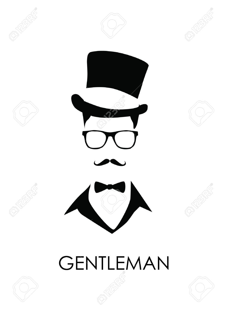 mustache man - 20578942