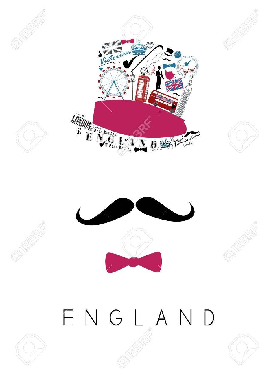 mustache man - 20583980