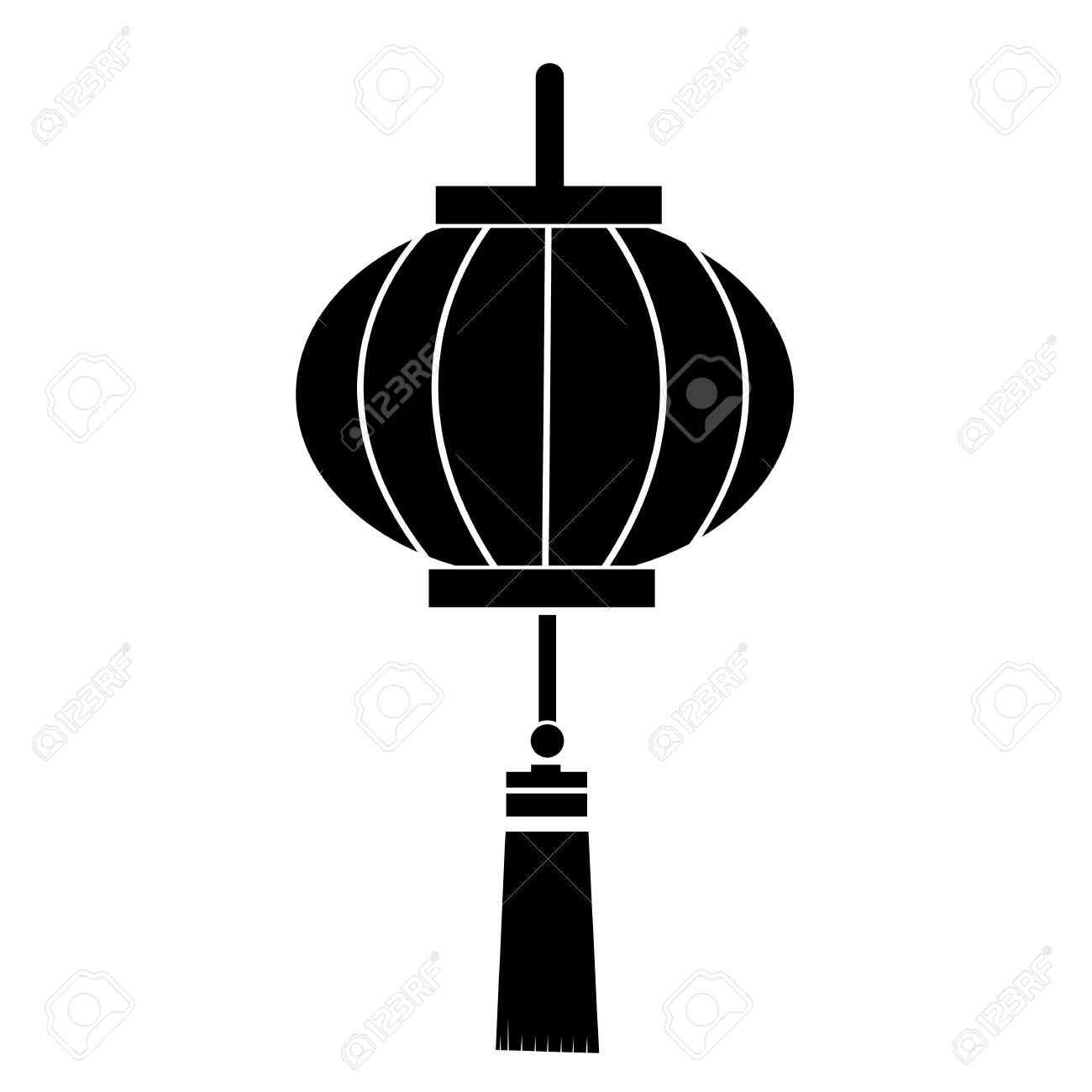 Chinese Lantern Icon On White Background Flat Style Chinese Royalty Free Cliparts Vectors And Stock Illustration Image 147224139