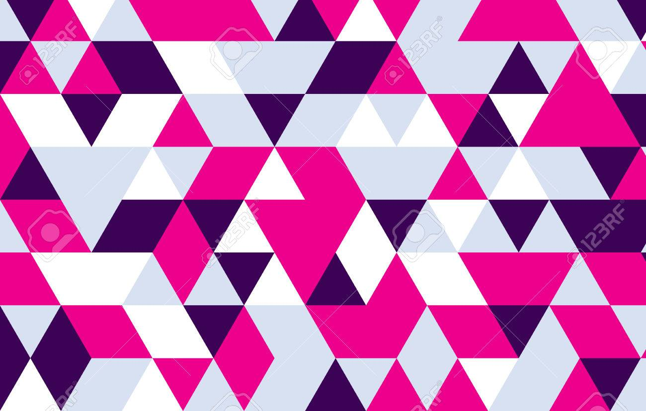 pink triangle design pattern geometric background royalty free