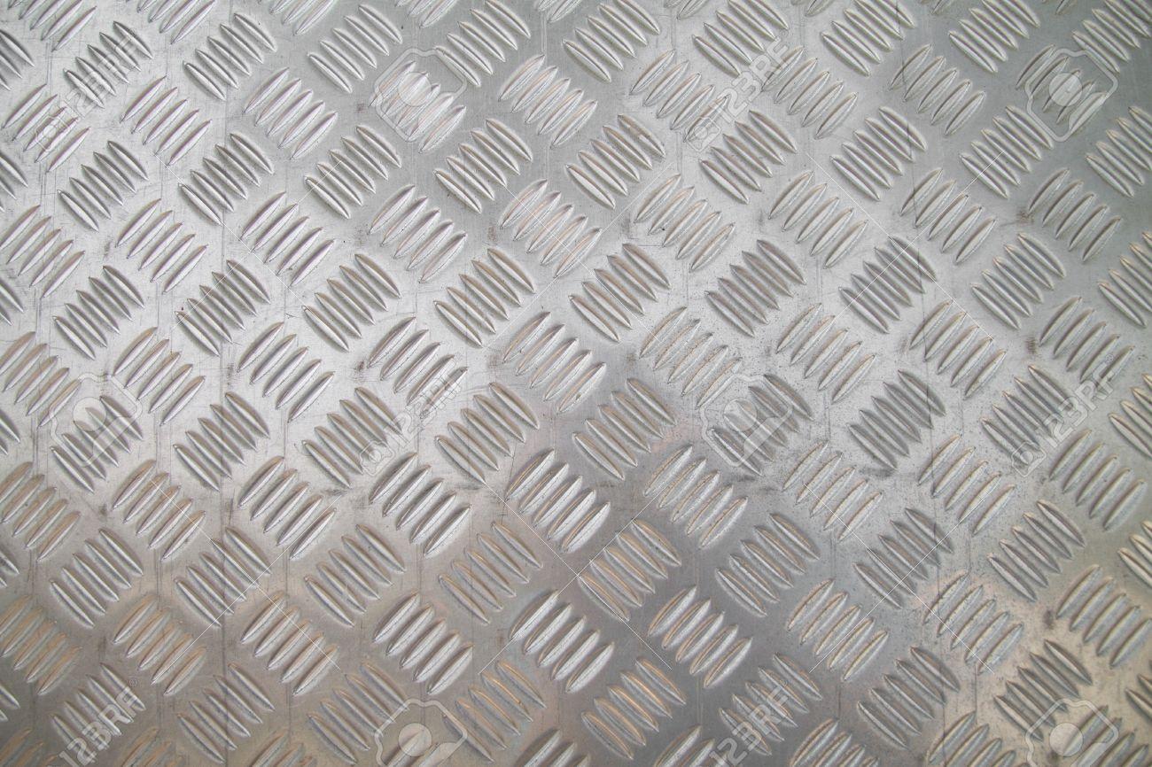 checker plate floor surface texture steel grip metal grating Stock Photo - 17628076