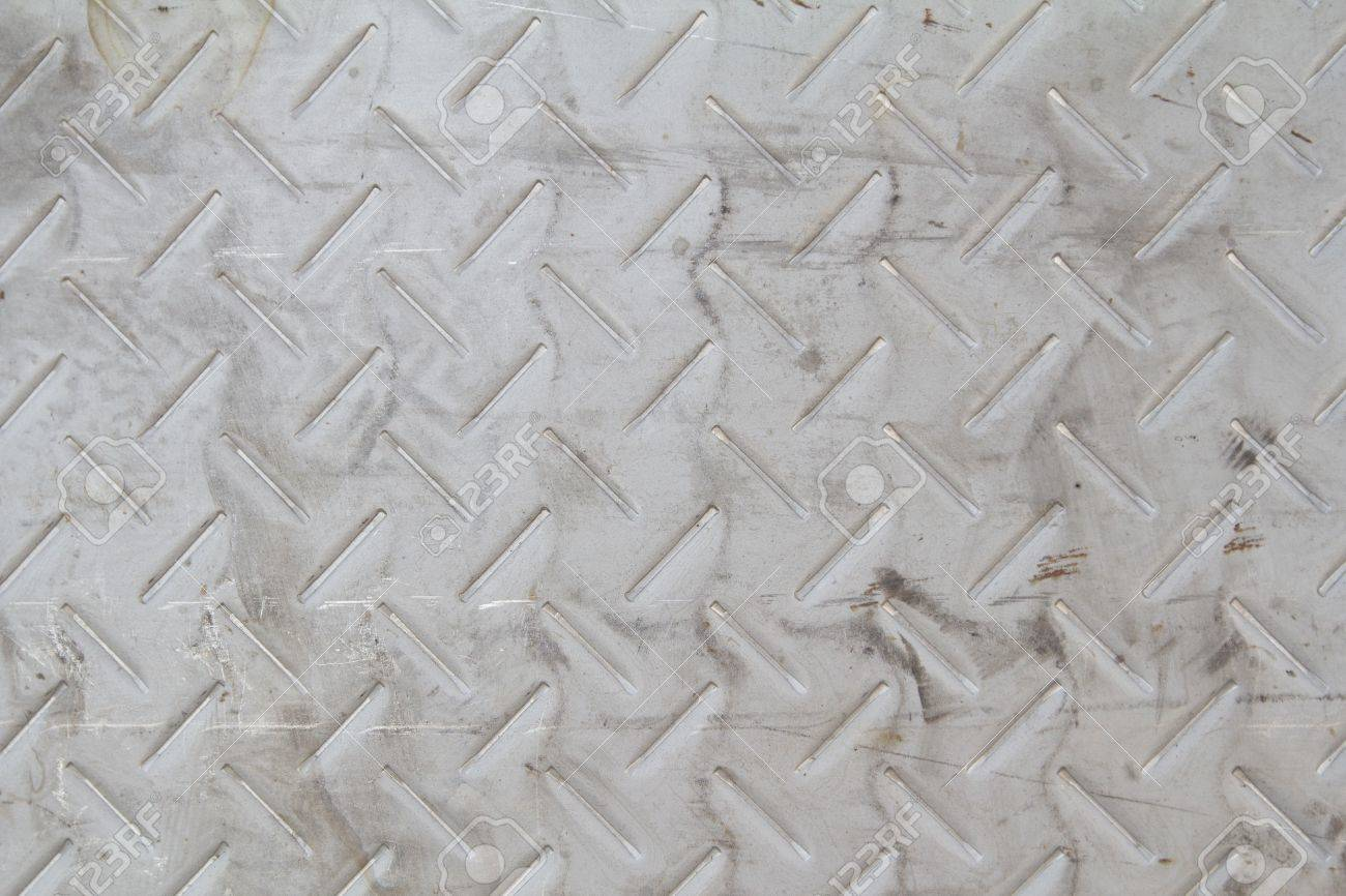 checker plate floor surface texture steel grip metal grating Stock Photo - 18704150