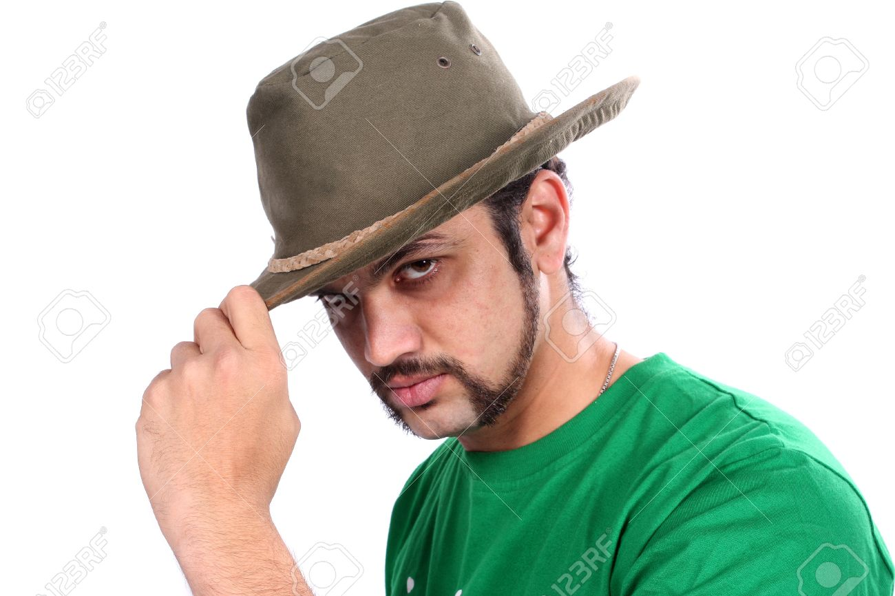 A Cool Indian Guy Wearing A Hat f024a1fde03