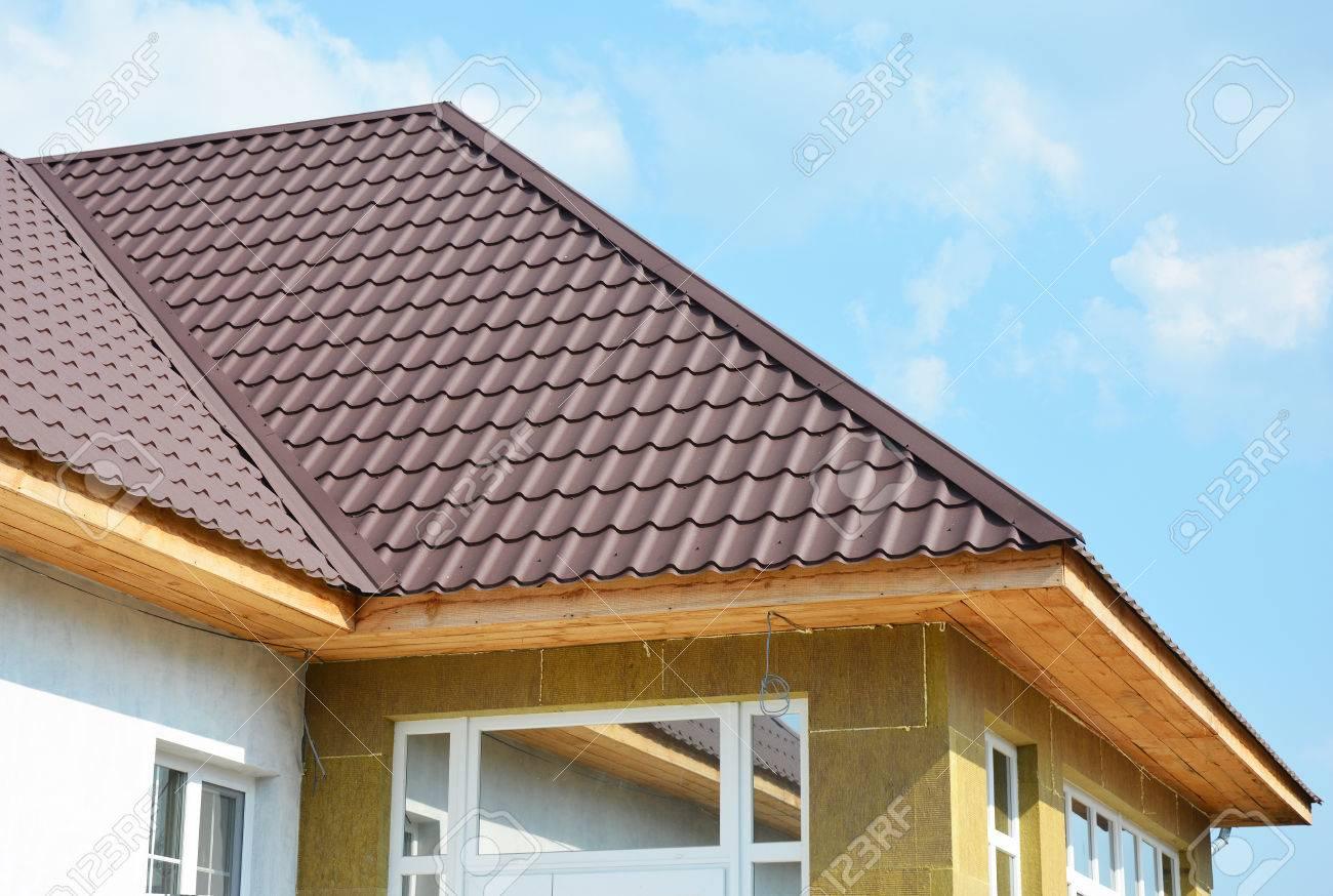 Dachhaus Und Steinwolle Wand Isolierung Detail Gebaudeisolierung