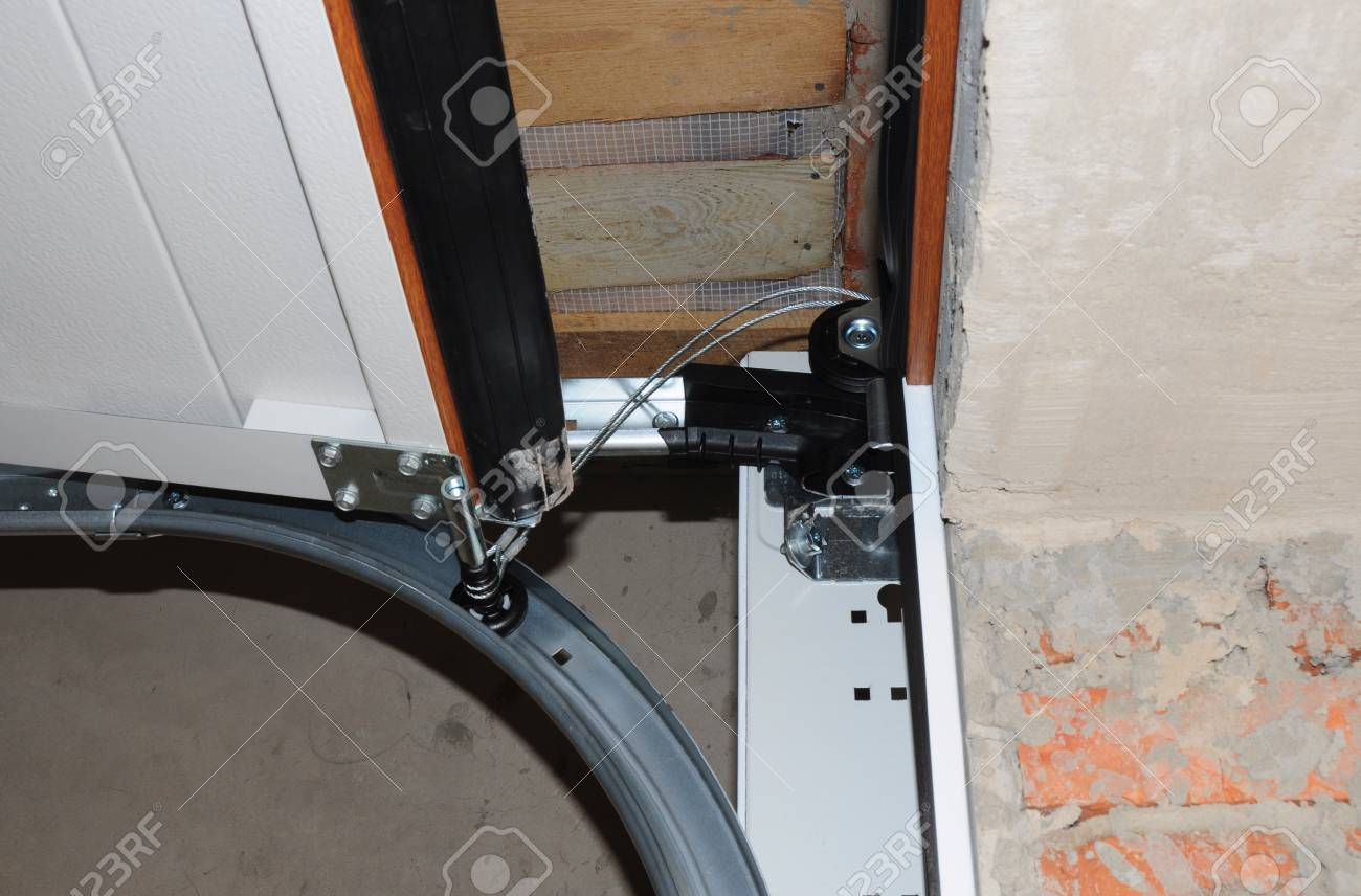 Contractor Repair And Install Garage Door Replace A Broken Stock