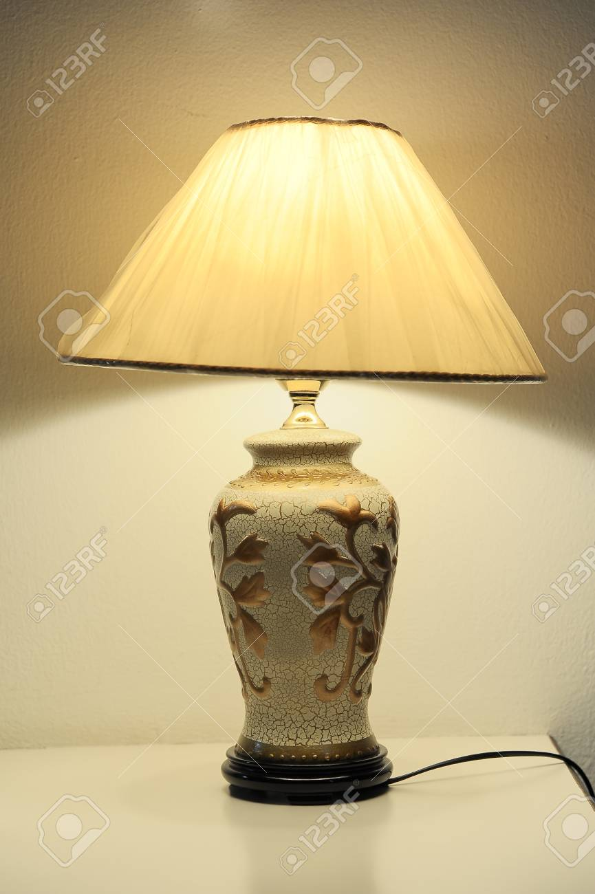 table lamp Stock Photo - 18565160