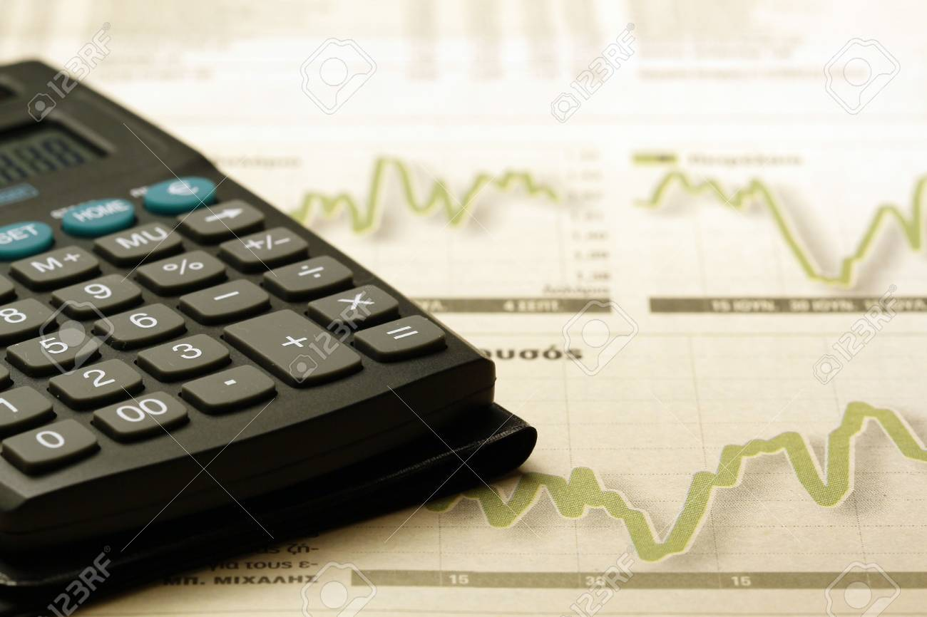 Calculator Stock Photo - 5530281