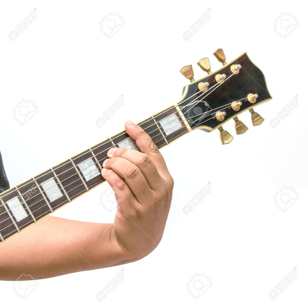 The Guitarist Show The B Major Chord Stock Photo Picture And