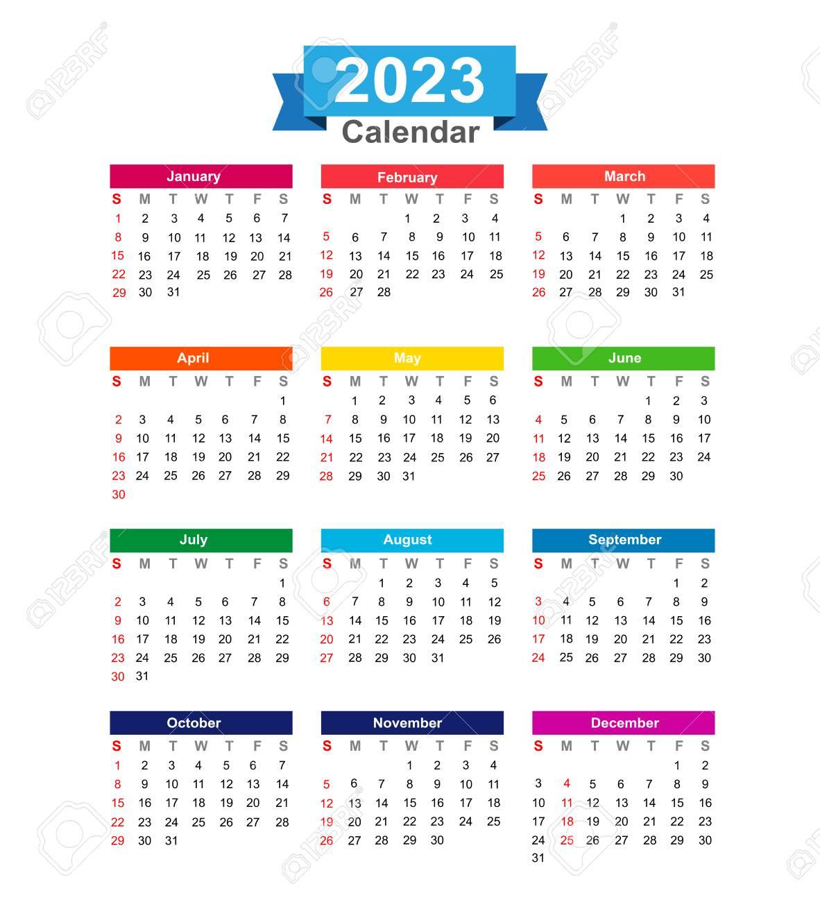 年 カレンダー 2023