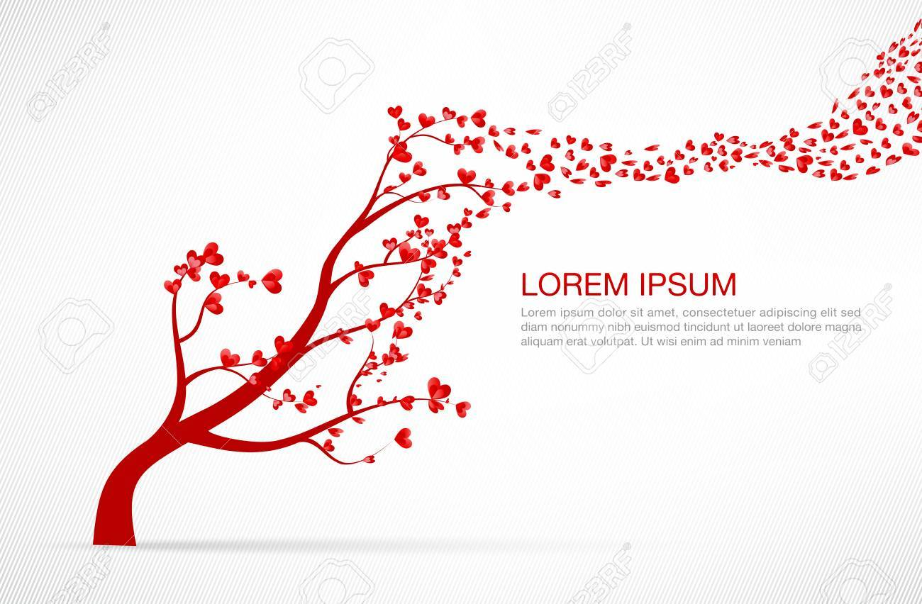 Heart tree element for valentine day and wedding card decoration heart tree element for valentine day and wedding card decoration vector illustration eps10 stock vector junglespirit Choice Image
