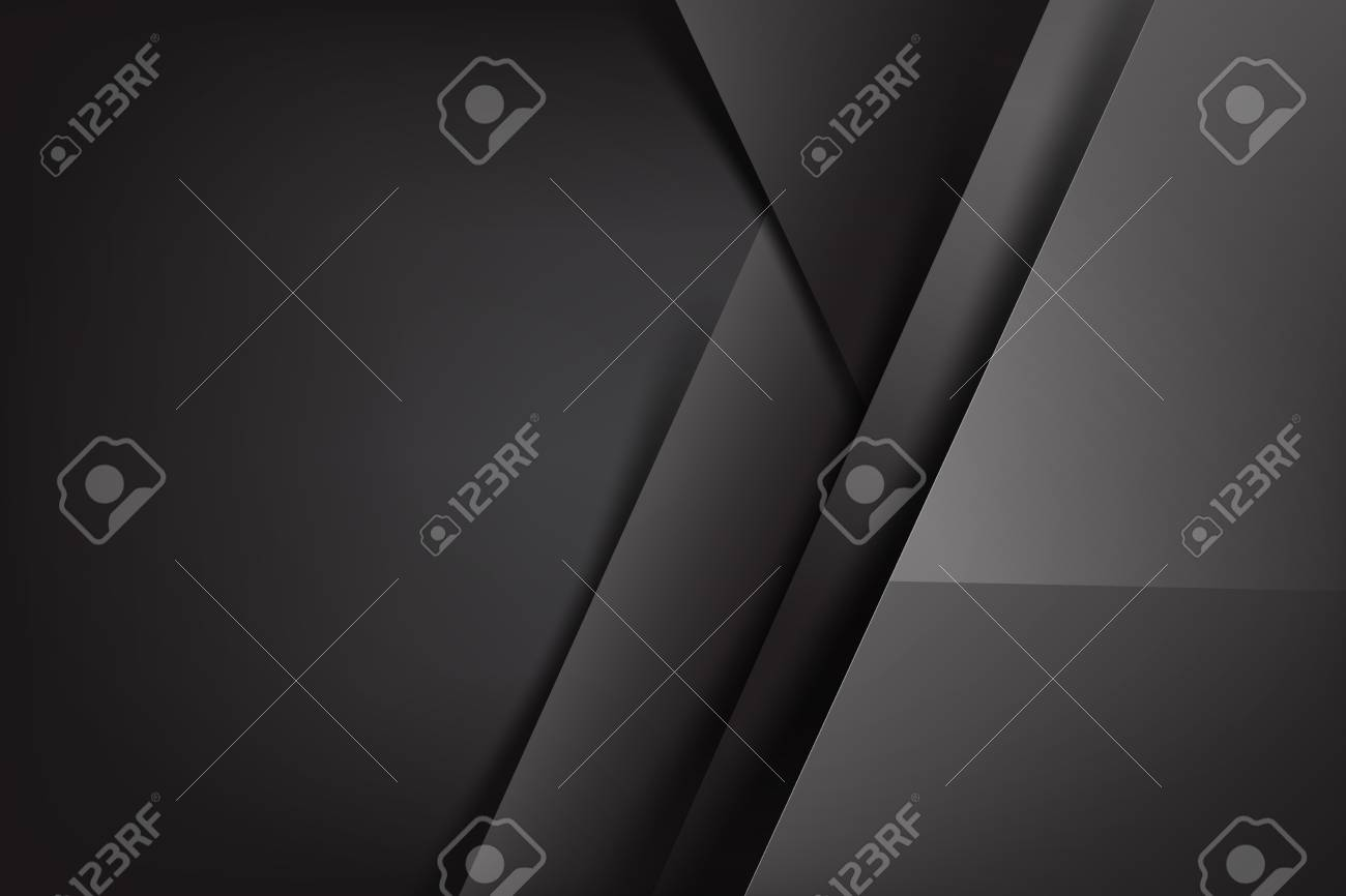 Abstract background dark and black overlap color vector illustration - 99539366