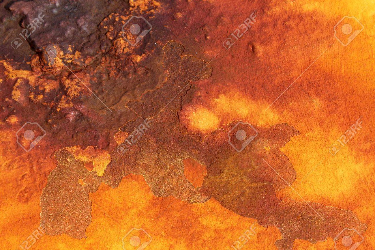 deep shades of orange rust backround Stock Photo - 16549766