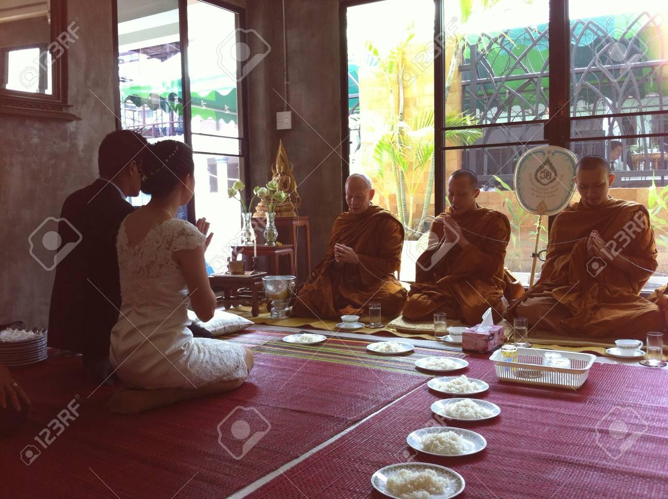 Wedding ceremony in Thailand - 25572439
