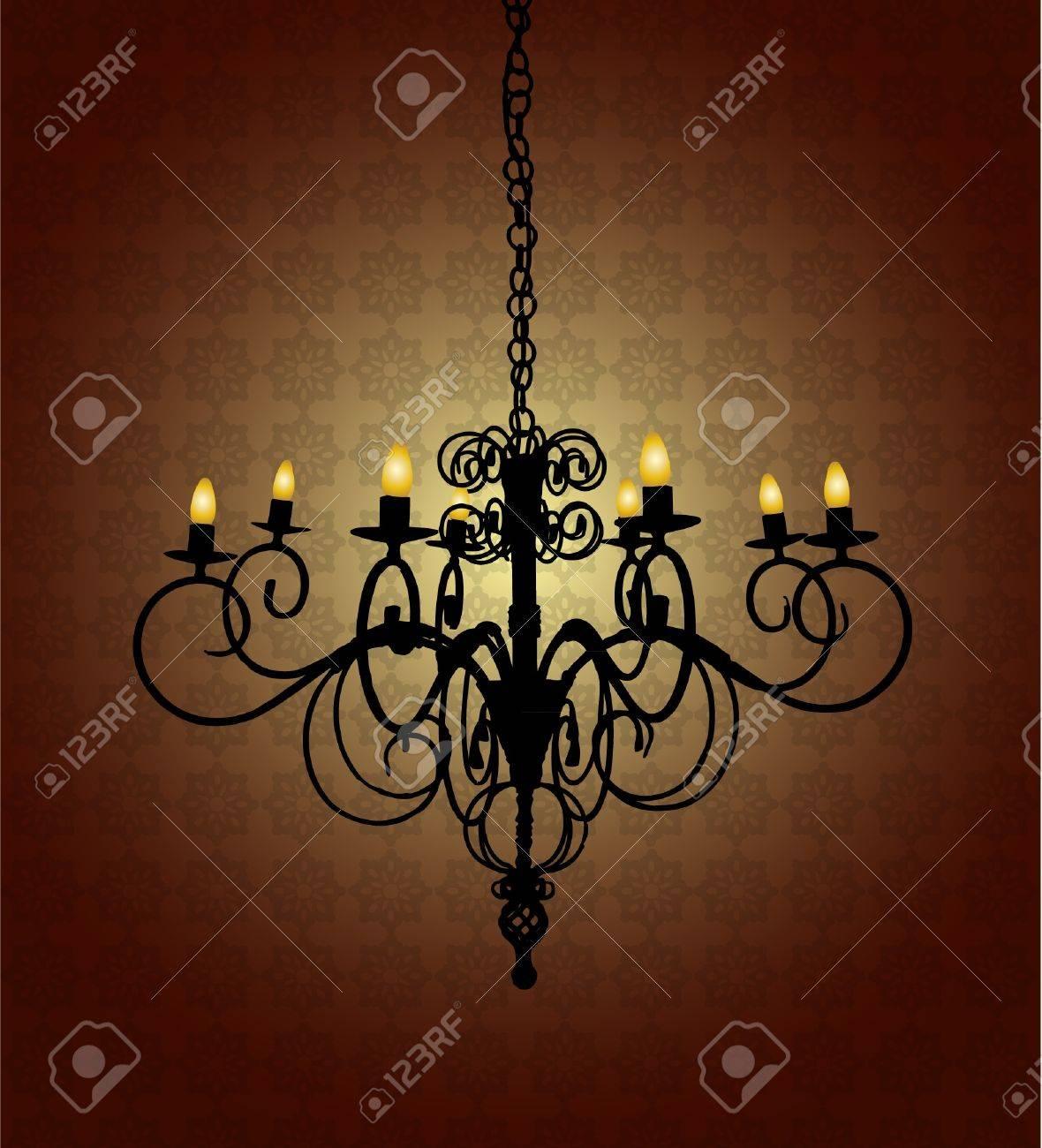 chandelier Stock Vector - 9150667