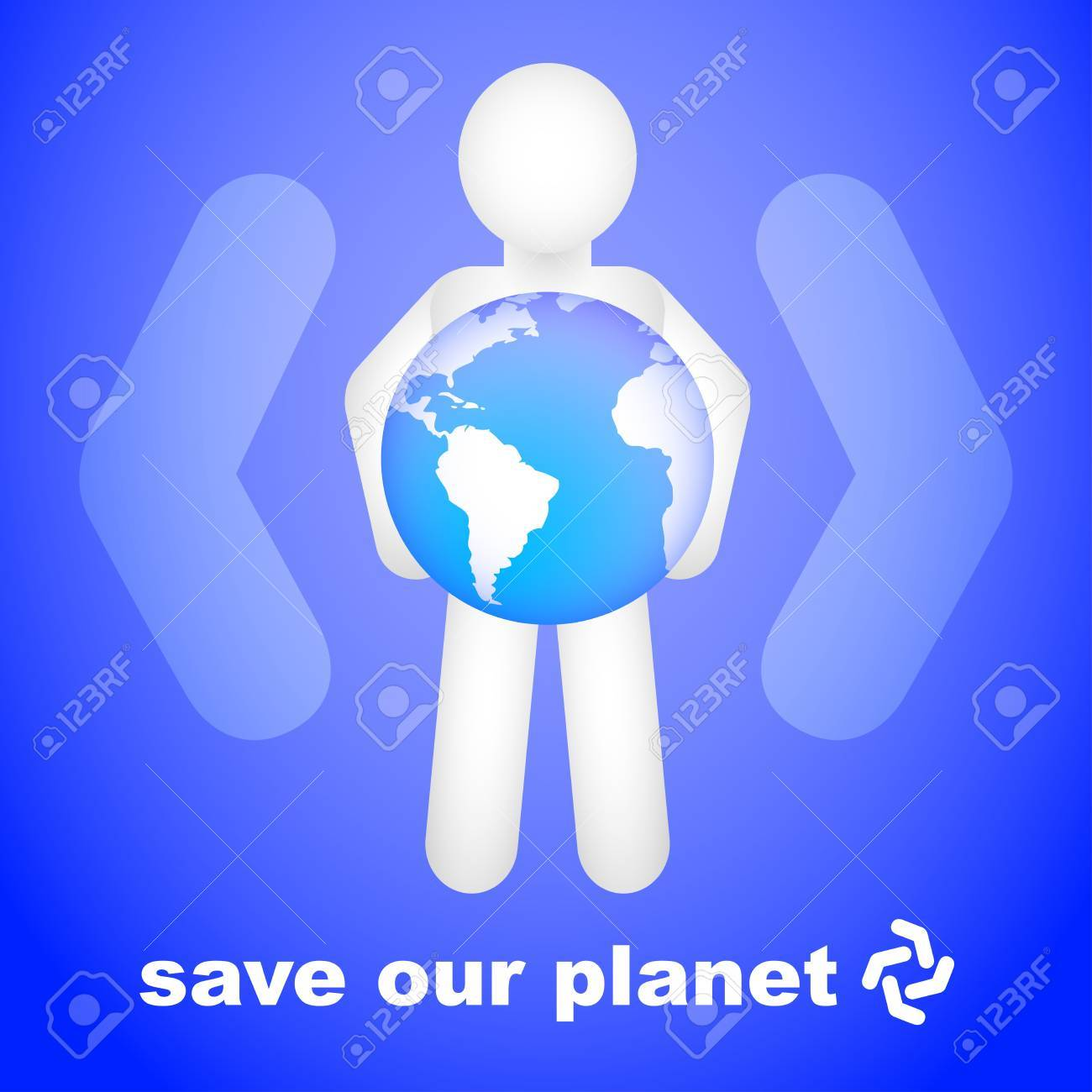 Save Our Planet Stock Vector - 10461703