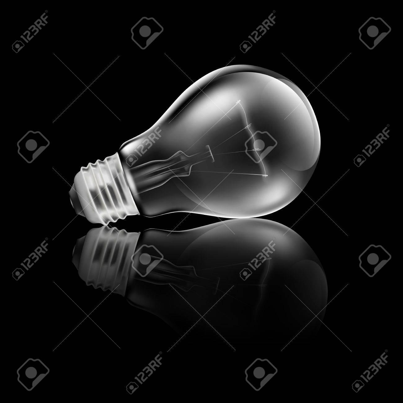 Realistic Light Bulb Reflection