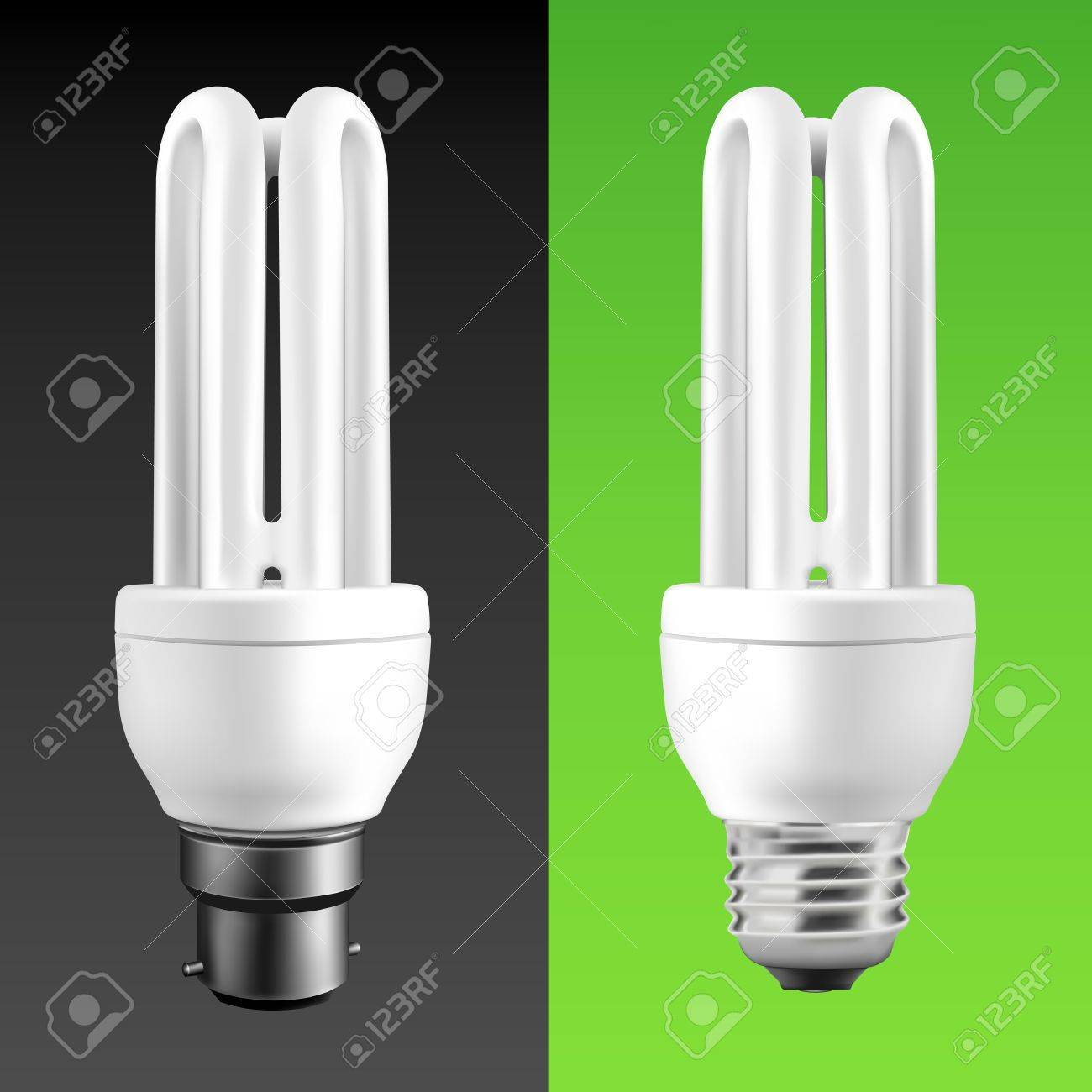 Energy Saving Fluorescent Light Bulbs (EPS10) Stock Vector - 11325054