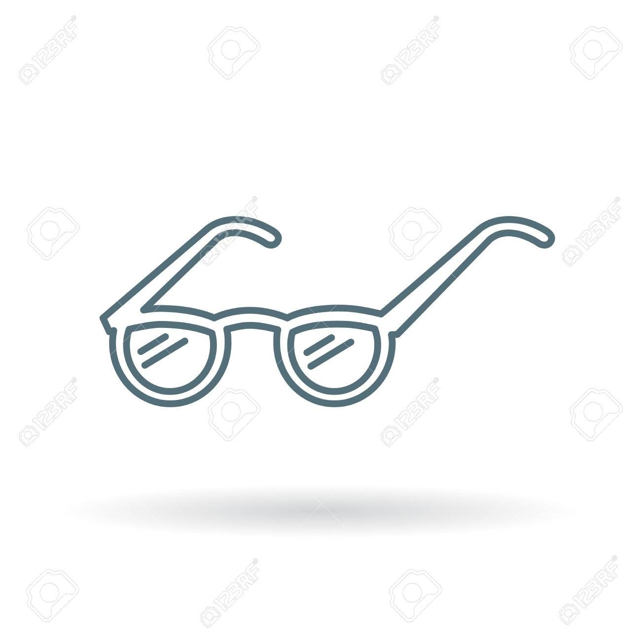 Reading Glasses Icon Reading Spectacles Sign Reading Glasses