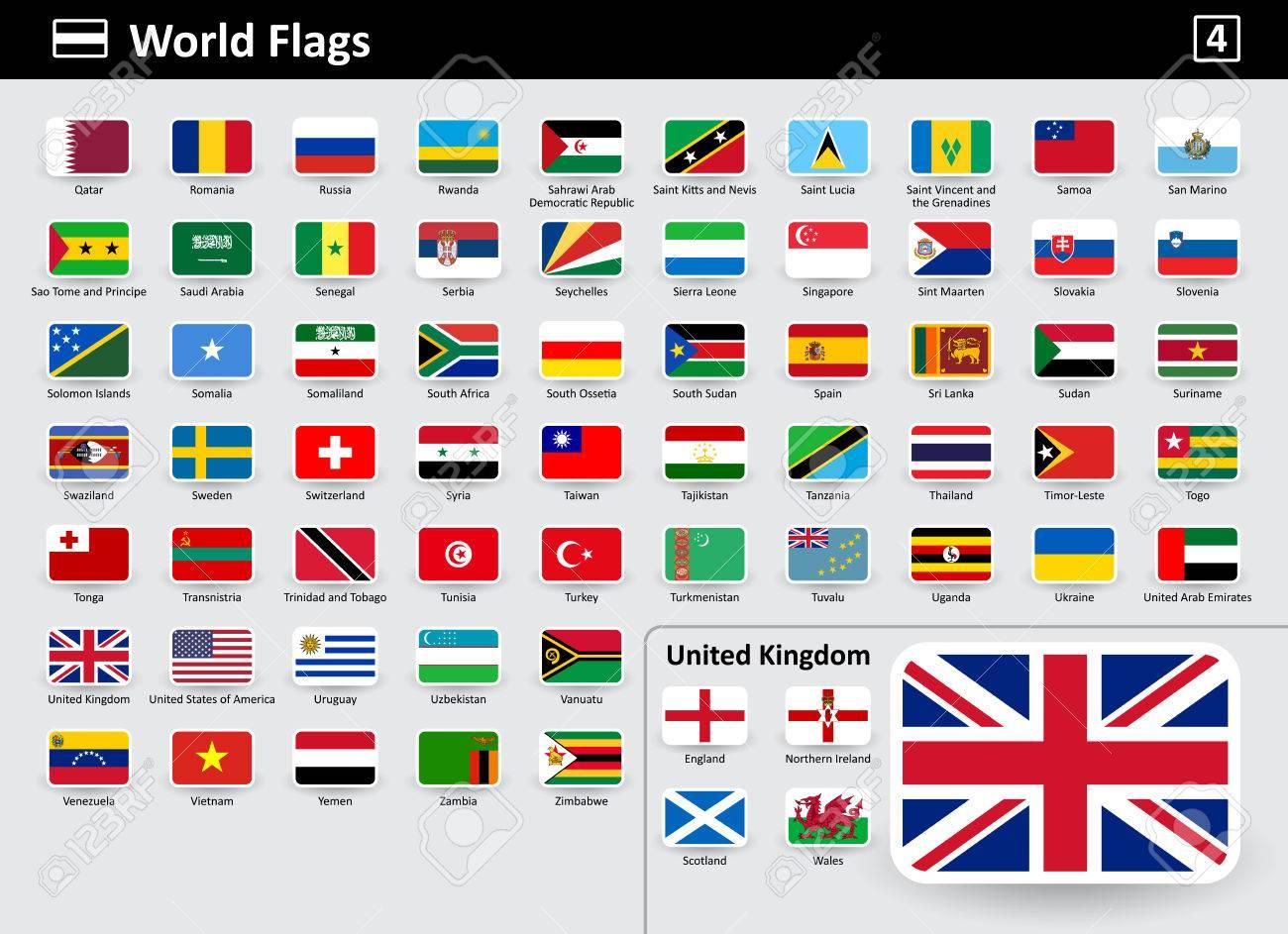 imagenes de todas las banderas con su nombre