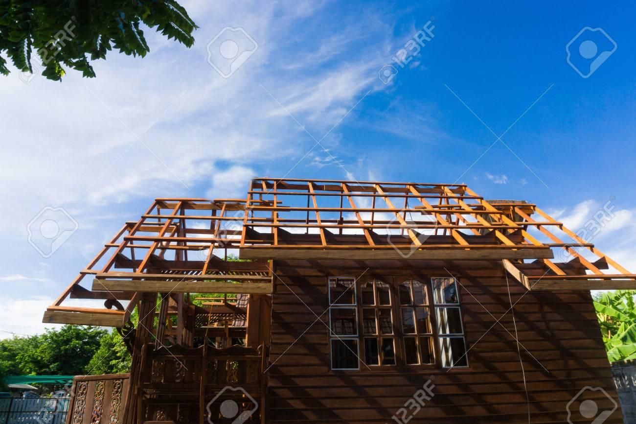 Building Thai Style Teak Wood House Traditional Teak House