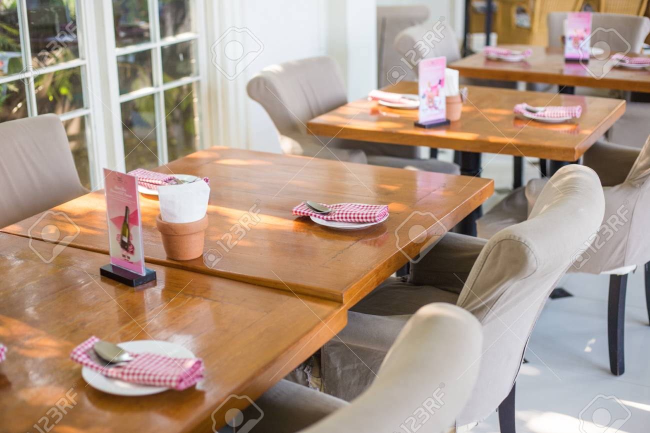 Interior Of Vintage Restaurant Decoration Luxury Cafe Food And Stock Photo Picture And Royalty Free Image Image 97002023