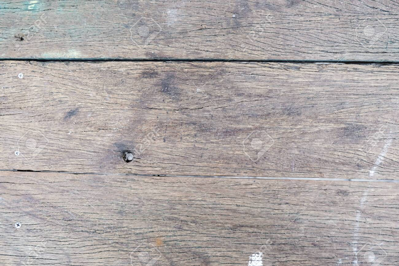 Vintage old wood texture decoration background - 130046554