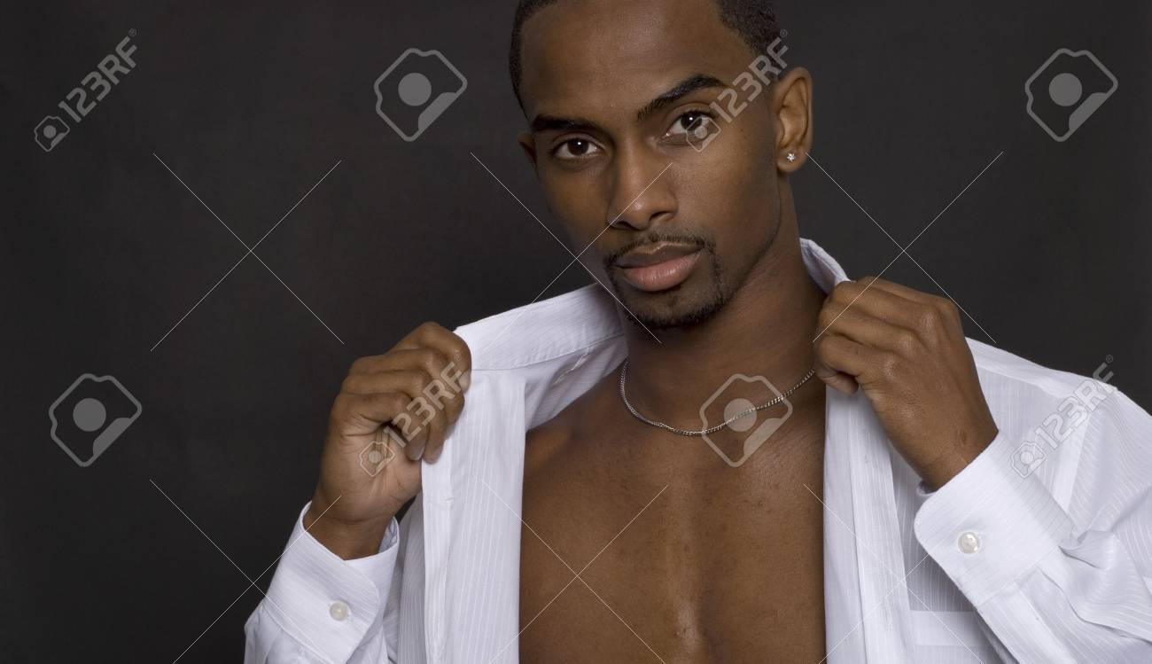 African American model posing for a fashion shot Stock Photo - 2257006