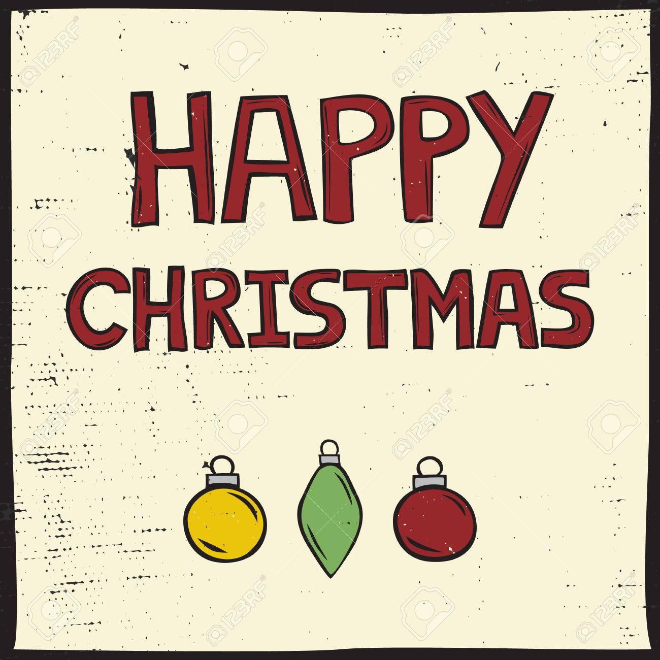Buon Natale Del C Testo.Vettoriale Piazza Christmas Card Con La Lettura Del Testo Buon