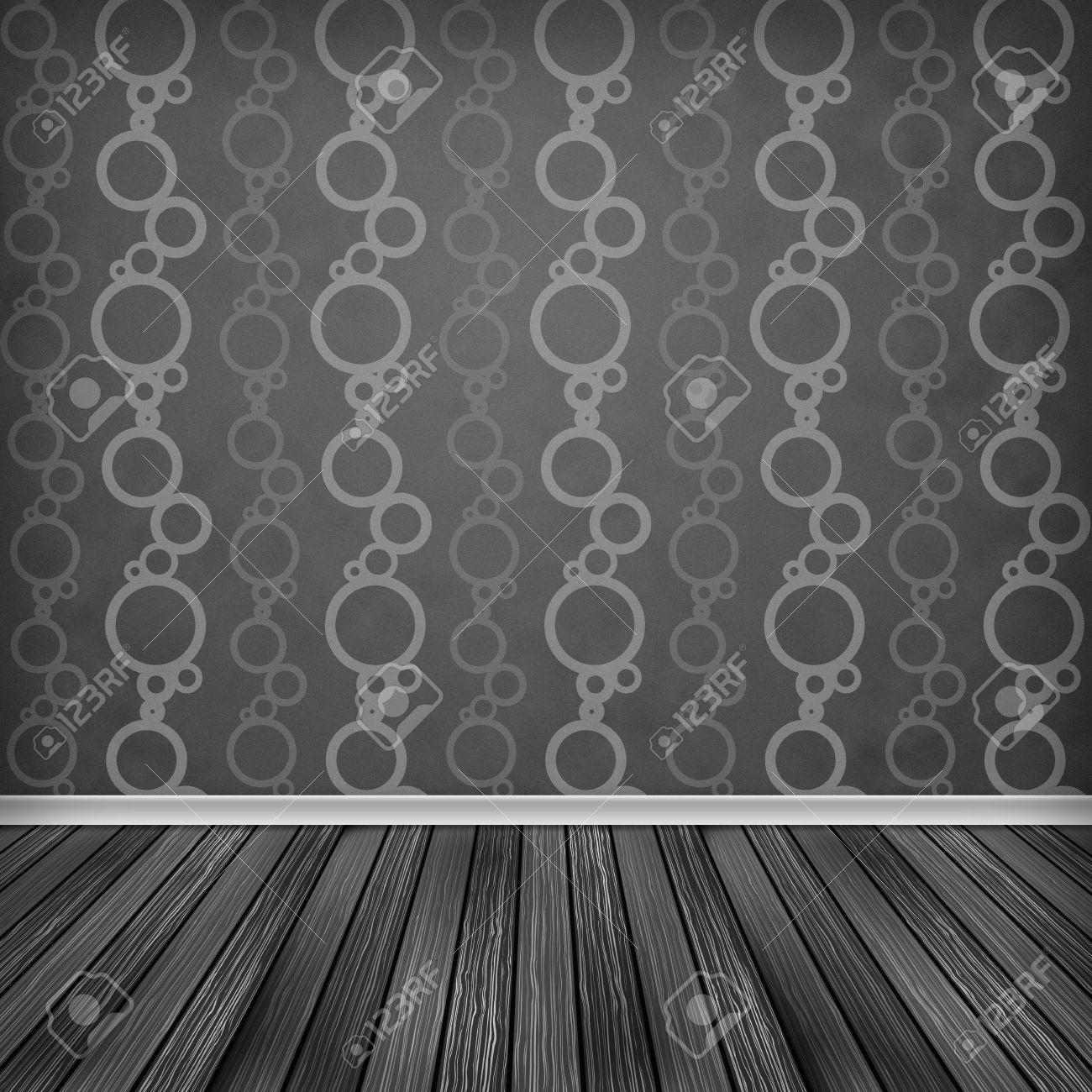 Interior wallpaper texture - Empty Room Interior With Wallpaper High Resolution Texture Background Stock Photo 20470550