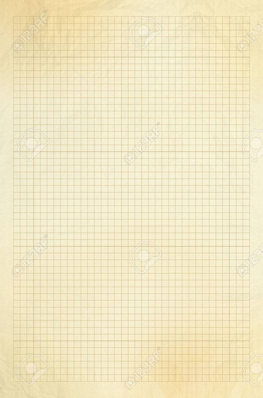 worksheet Blank Graphing Paper blank millimeter old graph paper grid sheet background or textured stock photo 25339220