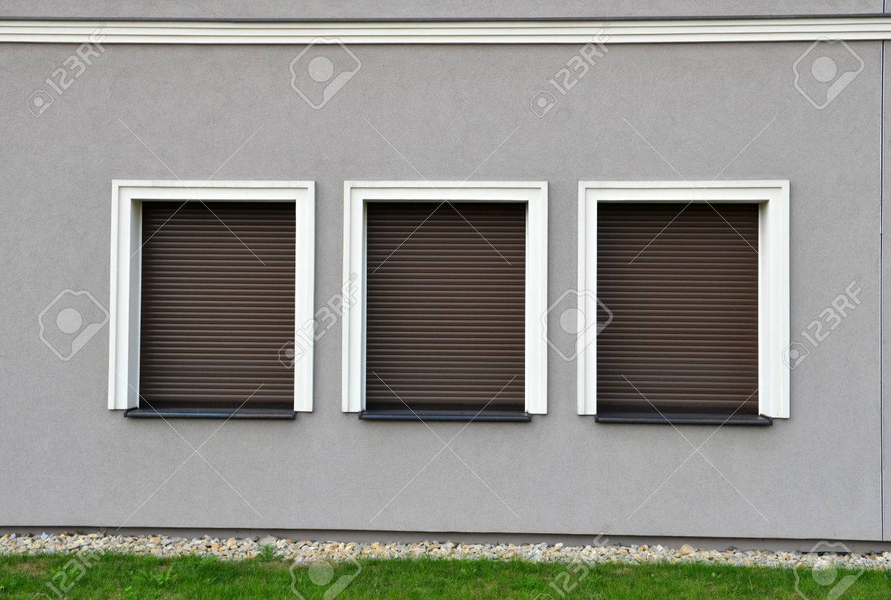 Plantation Shutters Exterior. Exterior Patio Blinds. Exterior Window ...